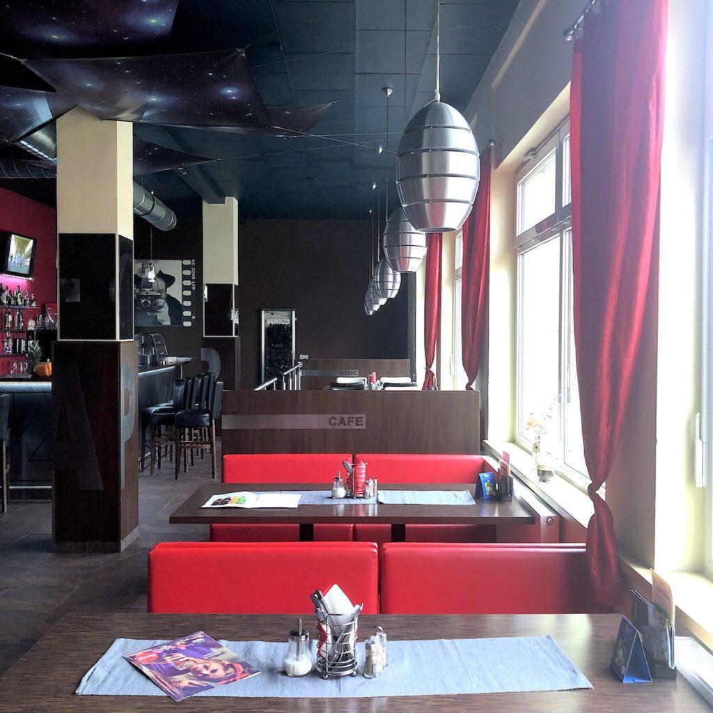 Restaurace a kavárna Ostrov
